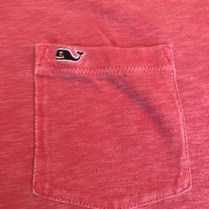 Short sleeved vineyard vines pocket tee